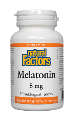 Melatonin/ Мелатонин 5 mg x 90 сублингвални таблетки